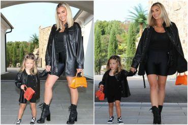 Brittany Aldean, Daughter, Navy; Photos via Instagram