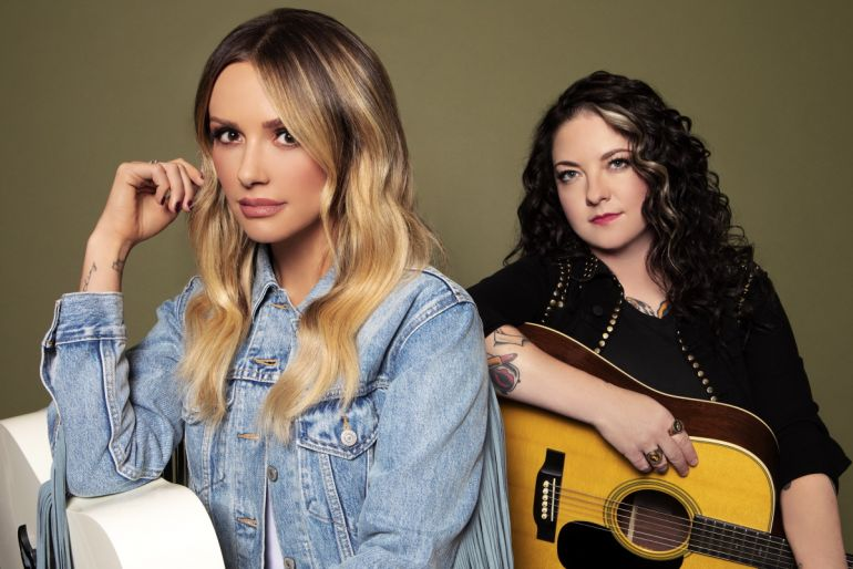Carly Pearce, Ashley McBryde; Photo Courtesy of Big Machine Label Group and Warner Music Nashville
