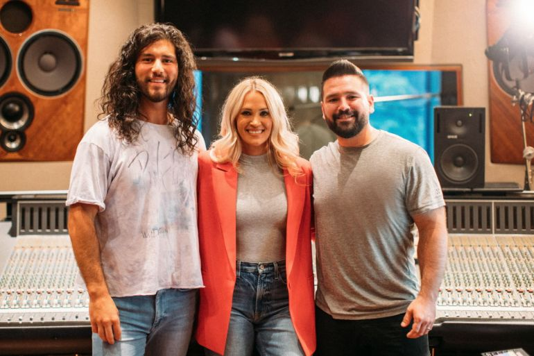 Carrie Underwood, Dan + Shay; Photo by Patrick Tracy