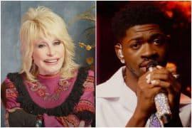 Dolly Parton, Lil Nas X; Photos via YouTube
