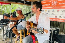 Tim James & Dan Spears at Island Hopper Songwriters Fest