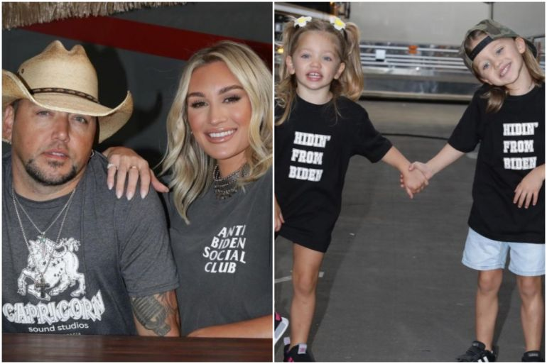 Country Star Jason Aldean And Wife Brittany Pro-America Pro-Trump With No Apology