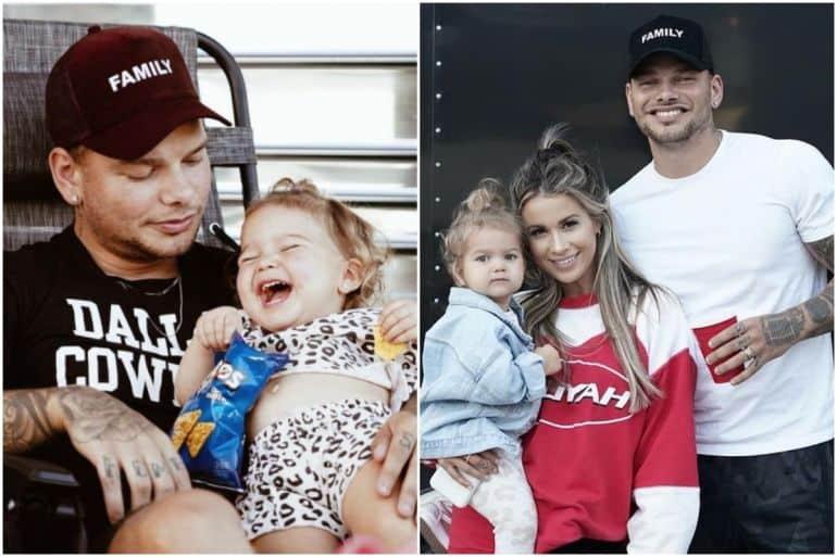 Kane Brown and Family; Photos by Alex Alvga