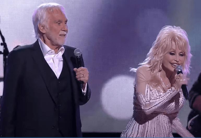 Kenny Rogers and Dolly Parton; Photo Courtesy CBS
