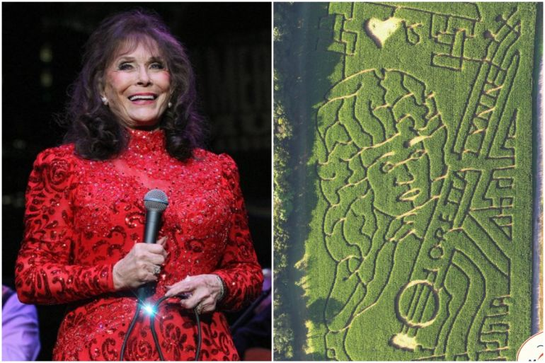Loreta Lynn Corn Maze