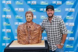 Luke Bryan; Photo by Andy Manis/AP Images for Farmland