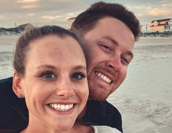 Scotty McCreery and Gabi; Photo via Instagram