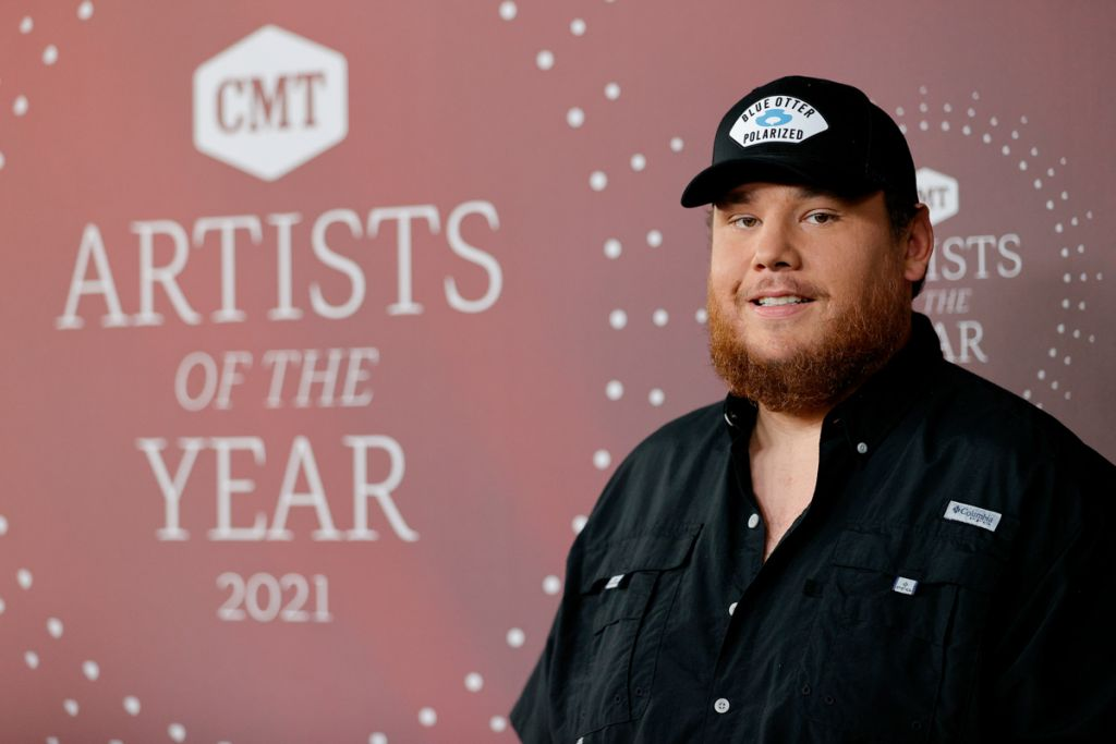 Luke Combs; Photo Courtesy Getty Images for CMT