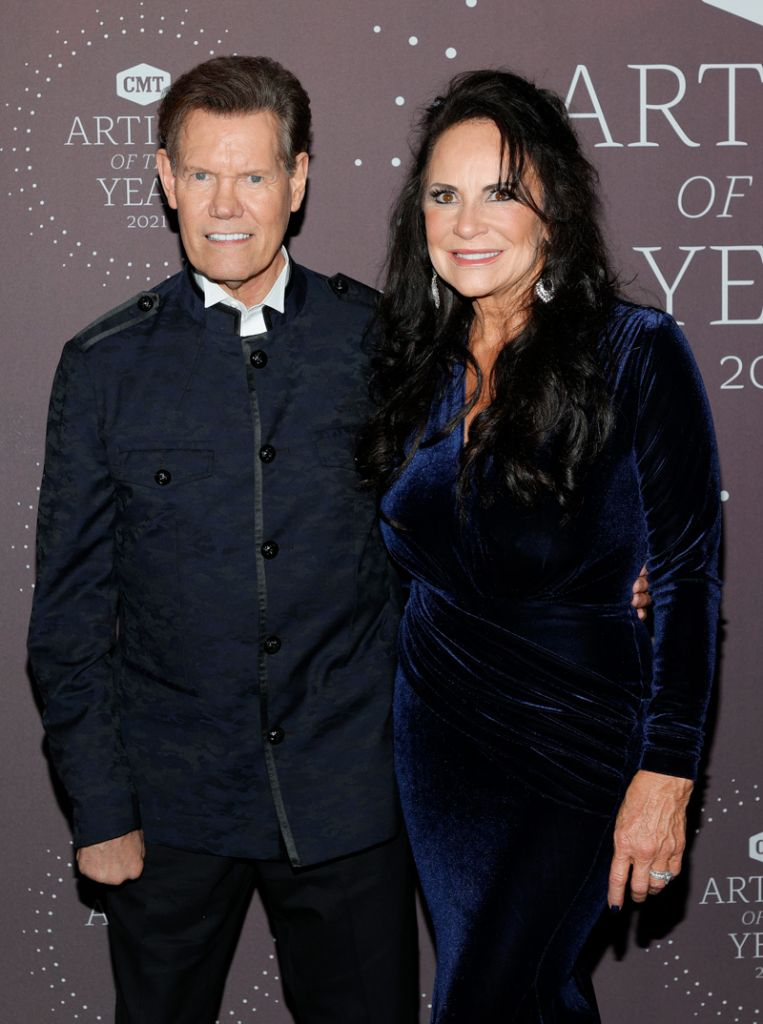 Randy Travis & Wife Mary; Photo Courtesy Getty Images for CMT