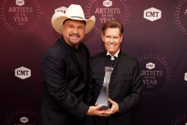 Garth Brooks & Randy Travis; Photo Courtesy of Getty Images for CMT