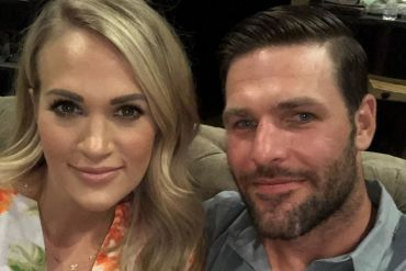 Carrie Underwood, Mike Fisher; Photo via Instagram