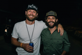 Chase Rice, Thomas Rhett; Photo via Instagram by Kaiser Cunningham