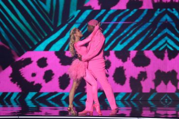 Jimmie Allen, Emma Slater; ABC, Dancing with the Stars