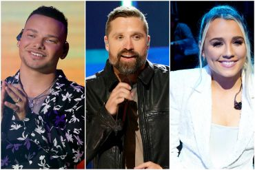 Kane Brown, Walker Hayes, Gabby Barrett; Photos by Getty Images for CMT