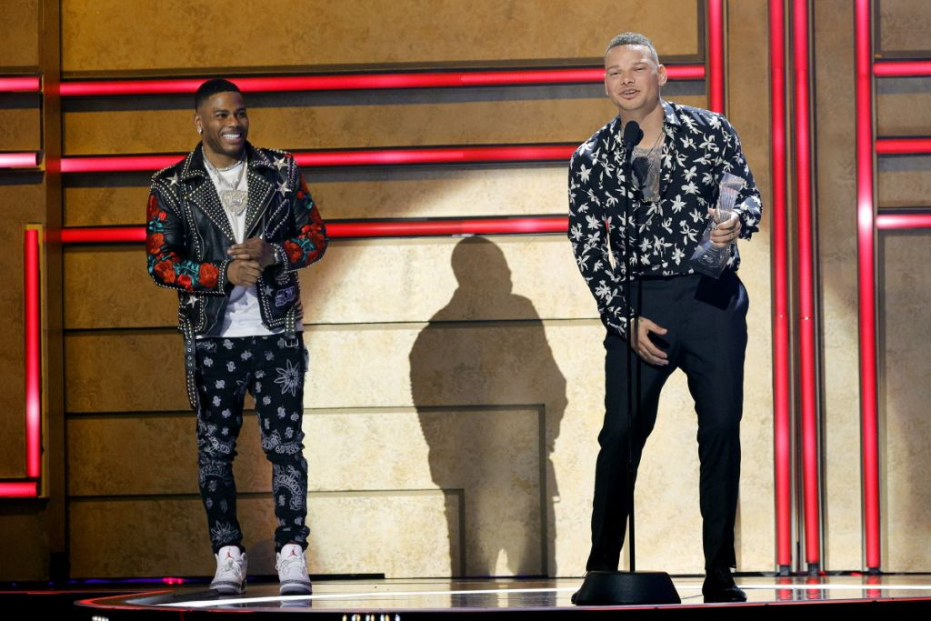 Kane Brown and Nelly; Photo by Getty Images for CMT