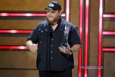 Luke Combs; Photo by Getty Images for CMT