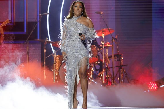 Mickey Guyton; Photo by Getty Images, CMT