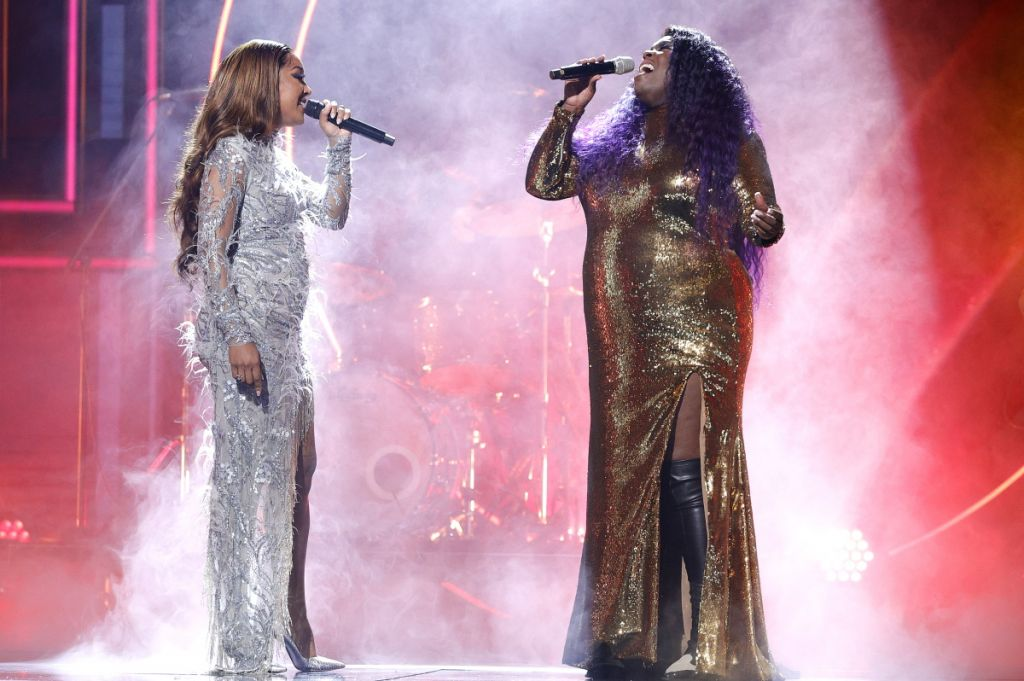 Mickey Guyton and Yola; Photo by Getty Images, CMT