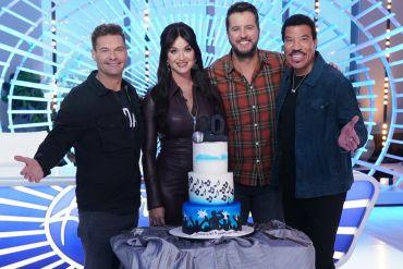 Ryan Seacrest, Katy Perry, Luke Bryan, Lionel Richie; Photo Courtesy American Idol