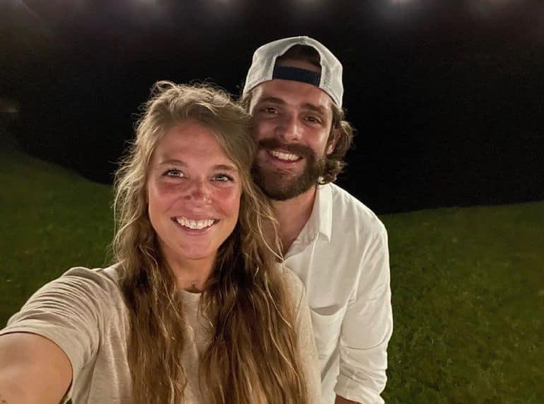 Thomas Rhett and Lauren Akins; Photo via Intagram
